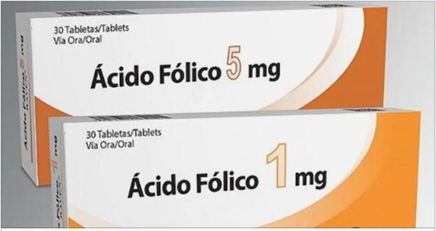 Acido folico para a saude