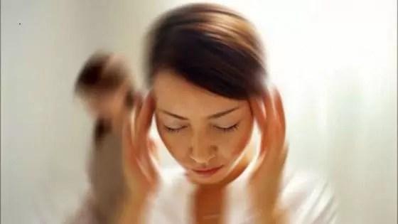 Sintomas de pressão alta-  Tontura
