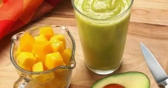 Vitamina de frutas para emagrecer