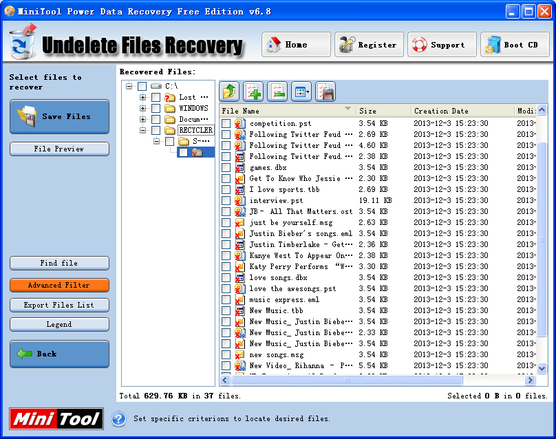 Outlook email recovery software2