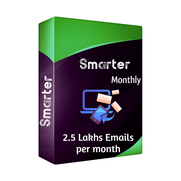 Bulk email software - Smarter - Monthly