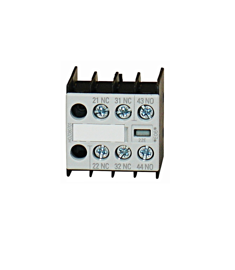 Aux. Contact 1NO 2NC size 00, for contactor with 1 NO contact - EMALL on