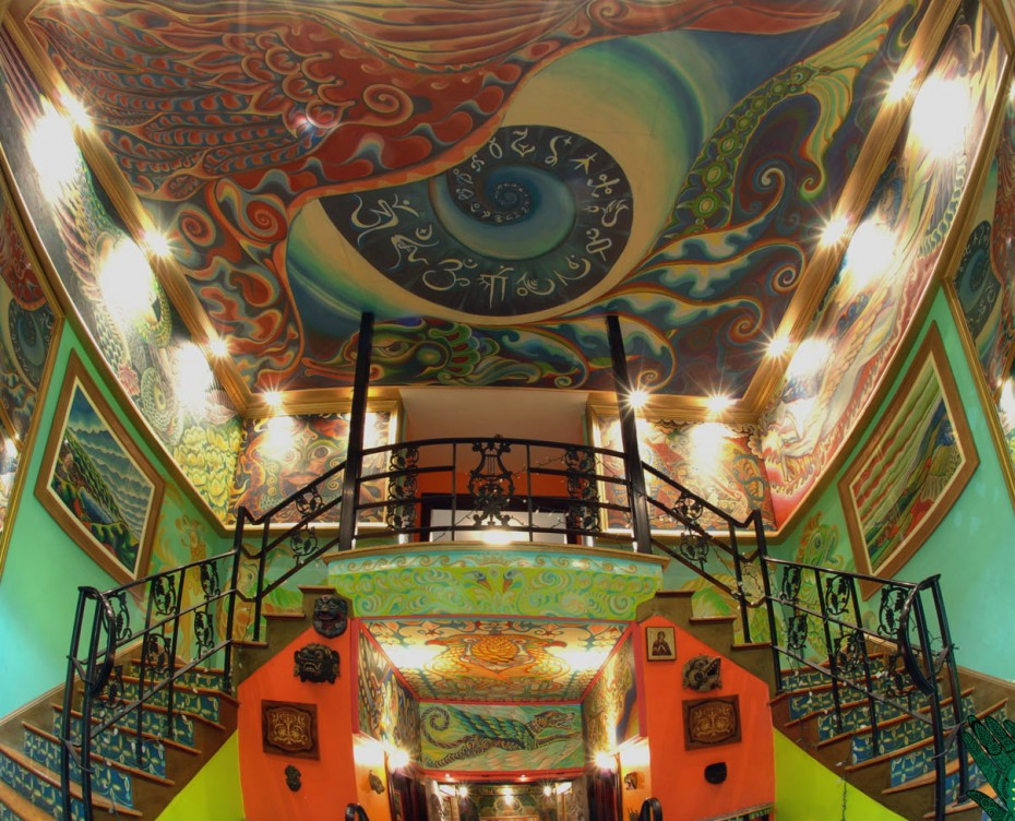 Masonic Lodge Gets Psychedelic Makeover Eman8