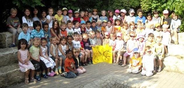 Kindergarten St. Johannis bedankt sich für die Experiementierkästen