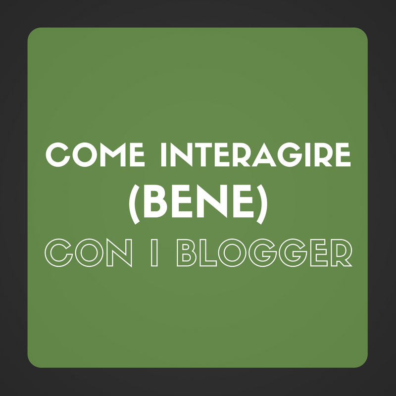 interagire blogger