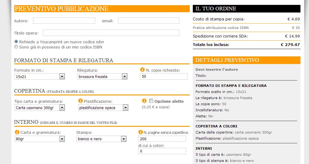 piattaforma self-publishing