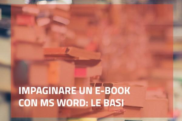 impaginare un e-book