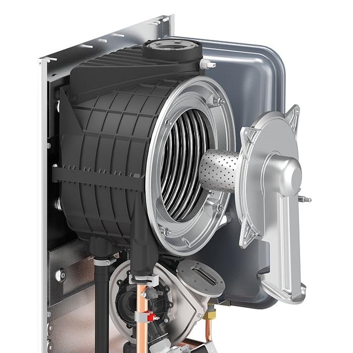 scambiatore bruciatore caldaia a condensazione
