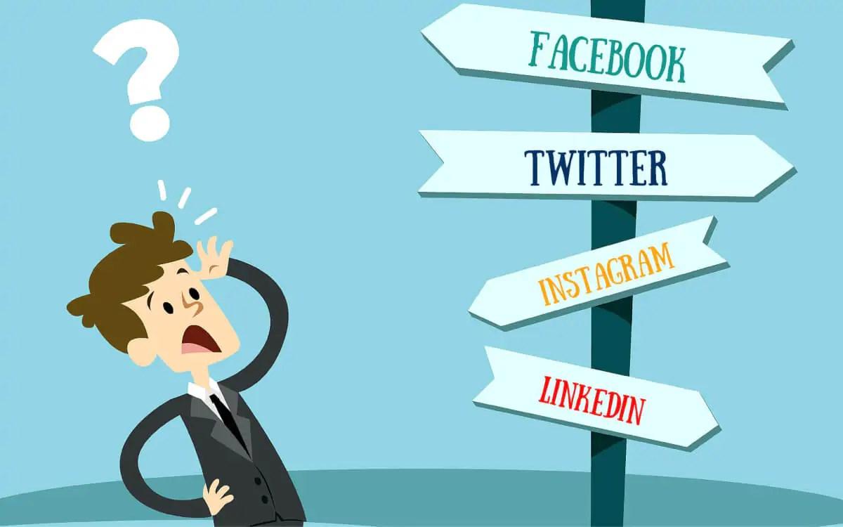 La dura giornata del social media manager