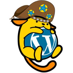 Mascote do WordCamp Fortaleza: Wappu Cangaceiro.