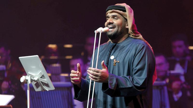 حسين الجسمي في دبي أوبرا الإمارات عين والسعودية عين