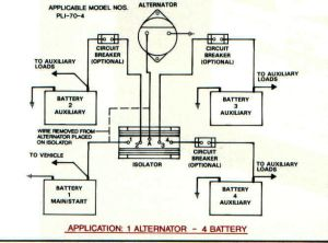 Battery Isolators  e Marine Systems