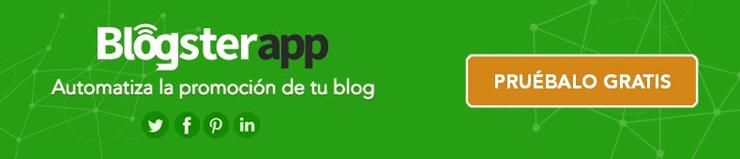 Insignia Oficial de BlogsterApp. Yo solo comparto                       contenido relevant