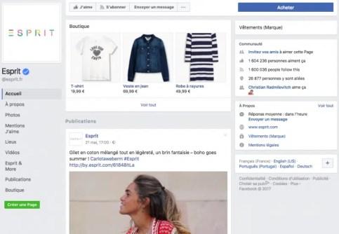 boutique-facebook-page