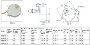35BYJ46 High Quality Stepper Motor 12V  emartee