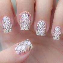 20 Classy Wedding Nail Art Designs