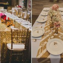 35 Trendy Wedding Table Runners