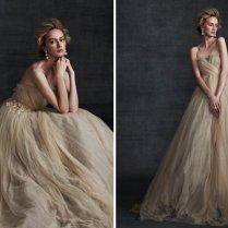 Beige Wedding Dress On Onewed