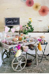 Gallery Rustic Garden Candy Bar Decor Ideas