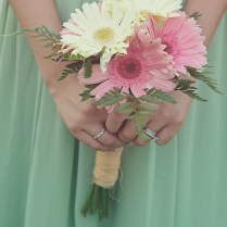 Gerber Daisies, Daisies And Burlap Lace On Emasscraft Org