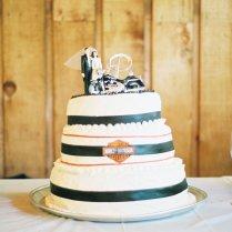 Harley Davidson Wedding Cake By Einafets On Deviantart