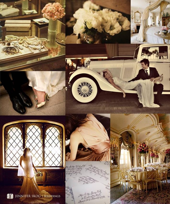 Old Hollywood Glamour Wedding Decor
