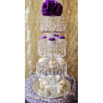 Sale Bling Cupcake Tower 4 Tiers Cupcake Stand Crystal Cupcake