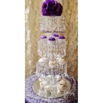 Sale Bling Cupcake Tower 4 Tiers Cupcake Stand Crystal Cupcake
