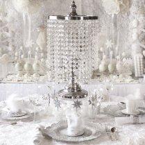 Trend Alert All White Bridal Showers { Winter Theme} Hostess