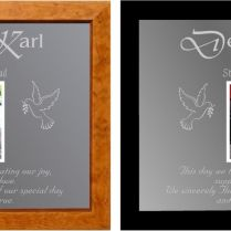 Wedding Gift Mirror For Parents 1