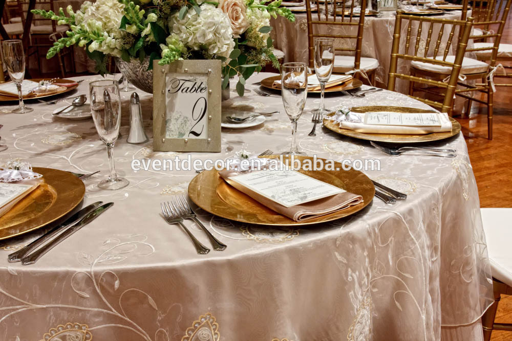 & Wedding Charger Plates
