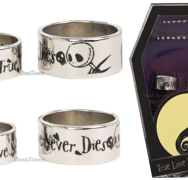 Wedding Rings For Beautiful Women Nightmare Before Christmas