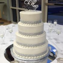 1000 Ideas About Bling Simple Wedding Cakes With Bling