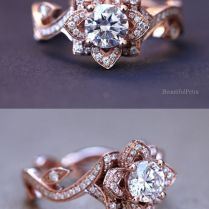 1000 Ideas About Flower Wedding Rings On Emasscraft Org