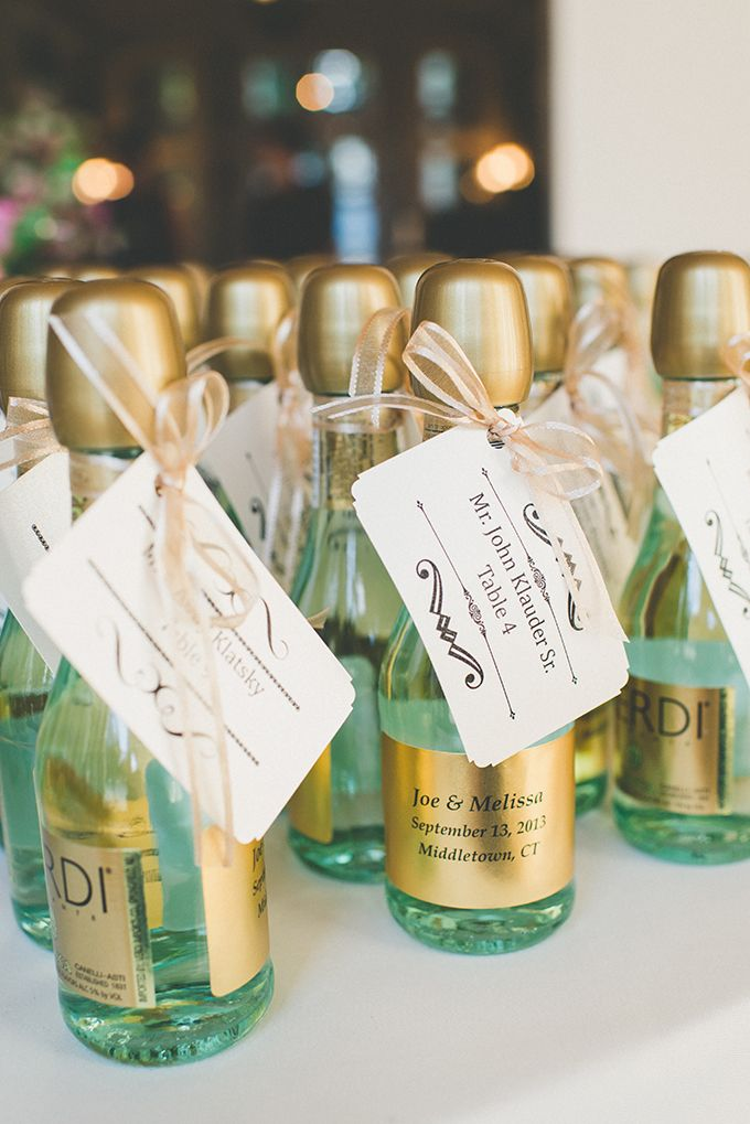 Mini Alcohol Bottles Wedding Favours