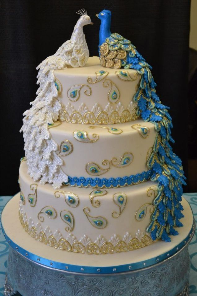 1000 Ideas About Peacock Wedding Cake On Emasscraft Org
