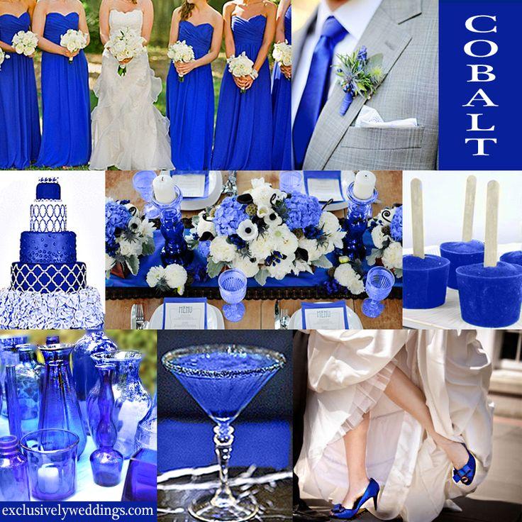 Purple And Black Wedding Ideas: Royal Blue Wedding Theme