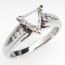 1000 Ideas About Triangle Engagement Ring On Emasscraft Org