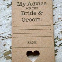 1000 Ideas About Wedding Advice Cards On Emasscraft Org