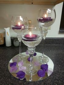 1000 Ideas About Wine Glass Centerpieces On Emasscraft Org