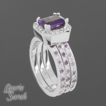 1000 Images About Amethyst Rings Wedding Time On Emasscraft Org