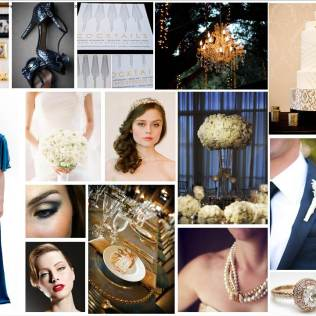1000 Images About Ivory, Gold, & Midnight Blue Wedding On