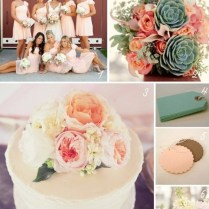 1000 Images About Peach & Green Fall Wedding Colors On Emasscraft Org