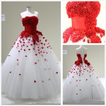 1000 Images About Red White Wedding Dresses On Emasscraft Org