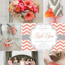 1000 Images About Wedding Inspiration Coral & Grey On Emasscraft Org