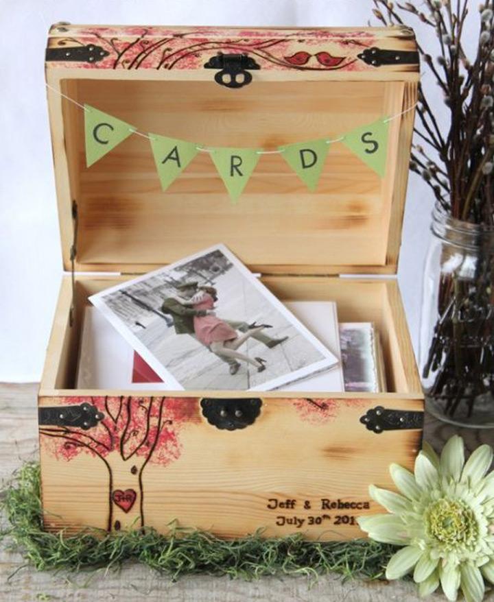 Unique Ideas For Wedding Card Boxes