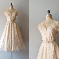 1940s Dress 40s Lace Dress Wedding Dress By Deargolden