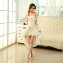 2015 New Style Two Piece Princess Wedding Dress Sweetheart