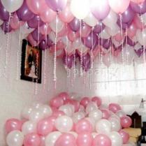 2017 Package Romantic Wedding Room Decoration Balloon Wedding Room