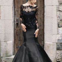 20 Beautiful (and Bold!) Black Wedding Dresses Chic Vintage Brides